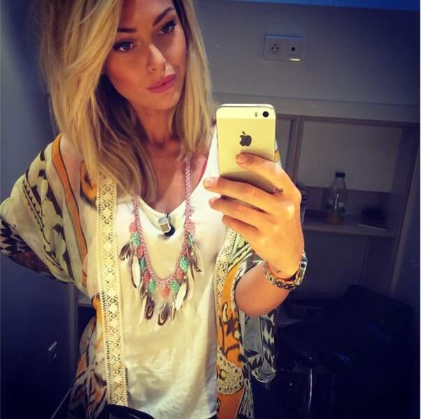 Du côté des fashion-victims de la semaine : on adore le look de Caroline Receveur