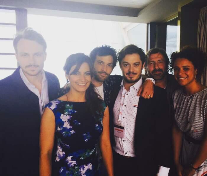 Laetitia Milot et ses partenaires sont venus présenter leur série La Vengeance aux yeux clairs, saga à venir de TF1