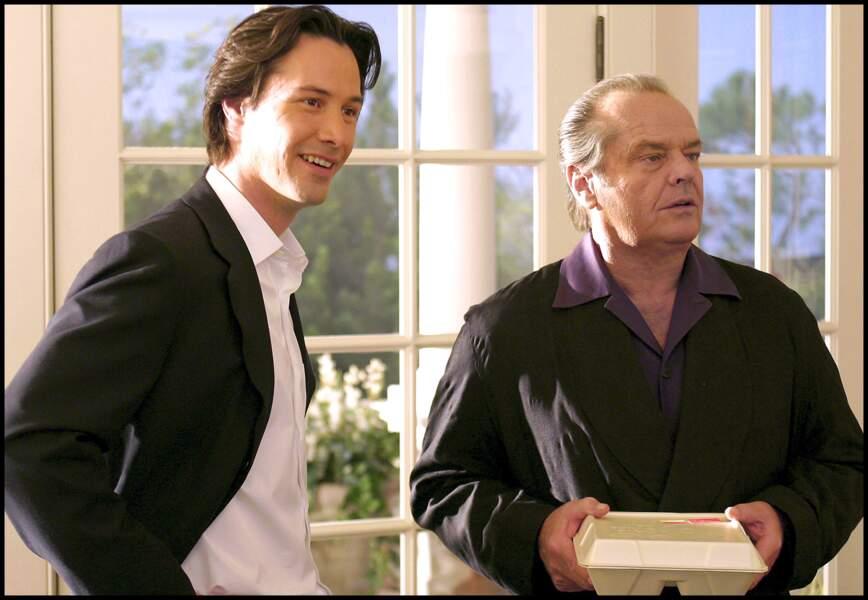 Tout peut arriver (2003), comme le duo Keanu Reeve et Jack Nicholson dans ce film