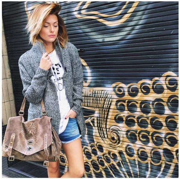 """""""Un jour, un look sur Instagram"""", telle est la devise de Caroline Receveur"""