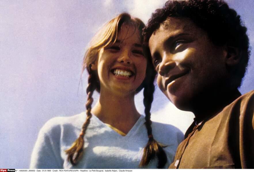 Le Petit Bougnat en 1970, son 1er rôle au cinéma. Elle à peine 15 ans