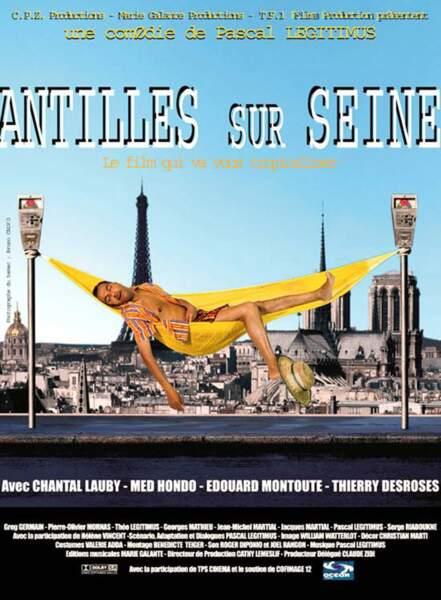 """Dans """"Antilles-sur-Seine"""", avec Pascal Légitimus et Chantal Lauby..."""