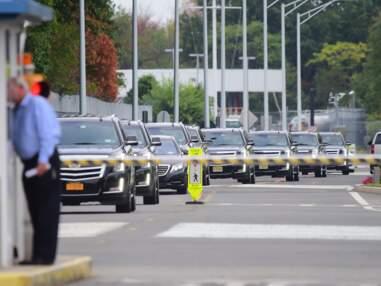 Kim Kardashian de retour à New-York avec un impressionnant service de sécurité