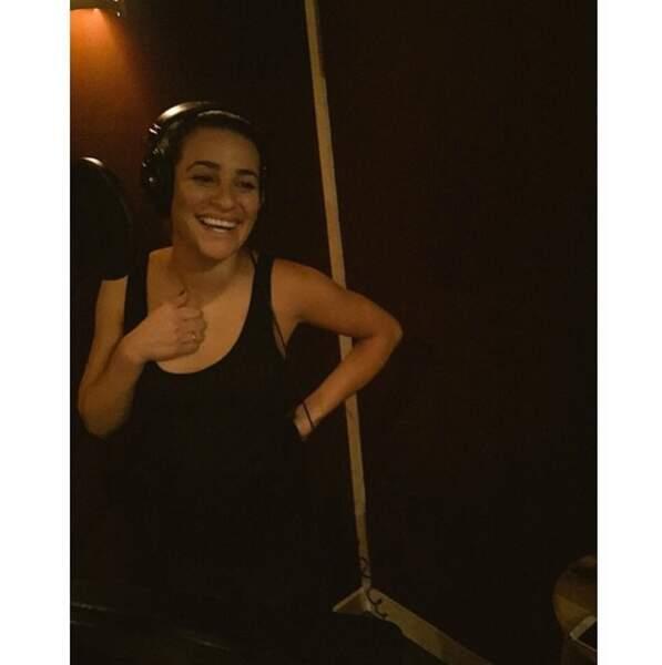 ... Elle est de retour en studio