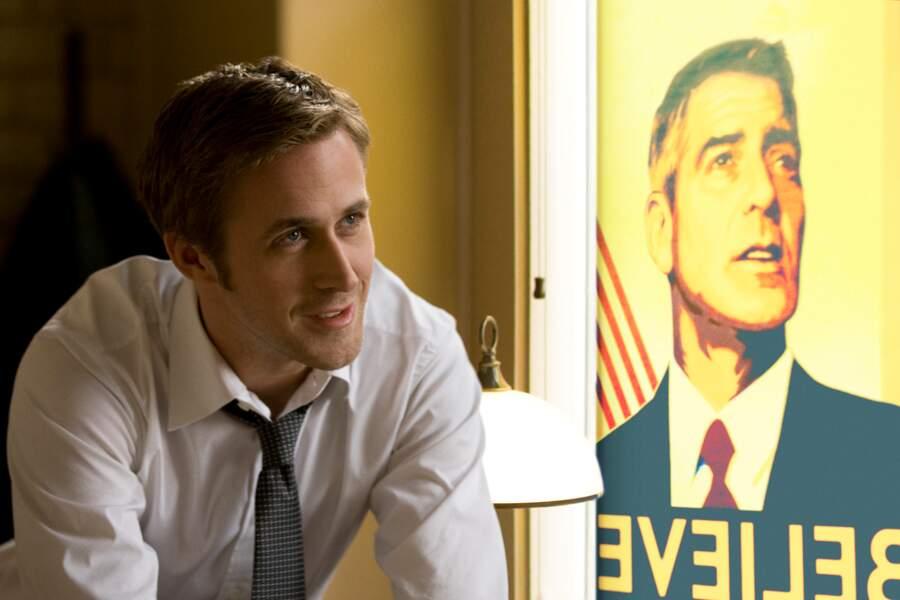 Ryan Gosling et George Clooney, duo politique désireux de gravir Les marches du pouvoir (2011)