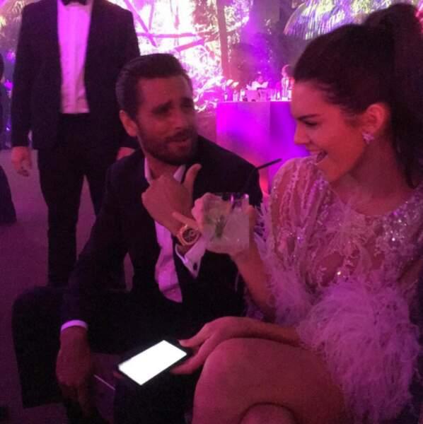 Kris Jenner surveille toujours sa petite Kendall de près