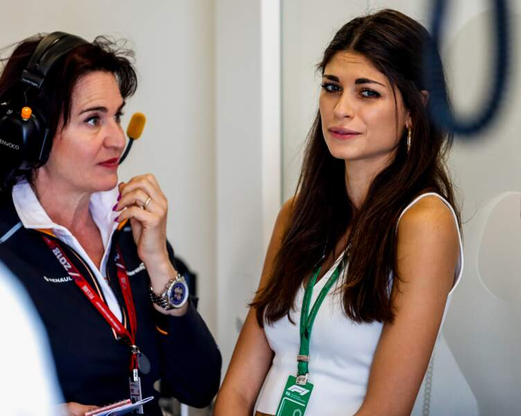 Linda Morselli lors du Grand Prix d'Espagne, en mai 2018