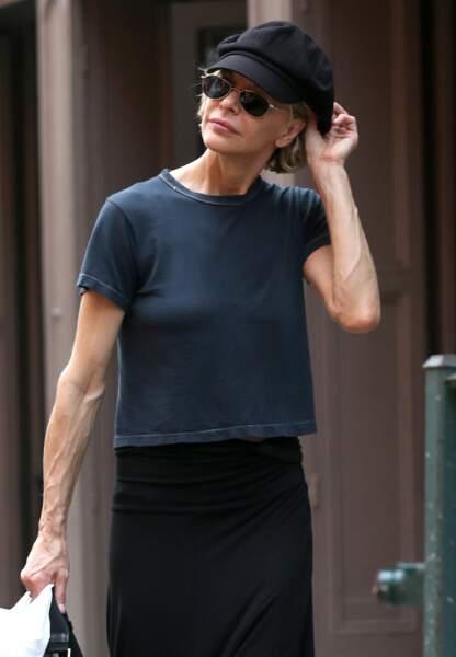 Meg Ryan dans le quartier de Soho. Vous avez dit maigrichonne ?