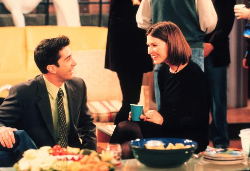 """Côté ex, il y avait aussi Emily, que Ross aurait pu épouser s'il n'avait pas dit """"Rachel"""" devant l'autel !"""