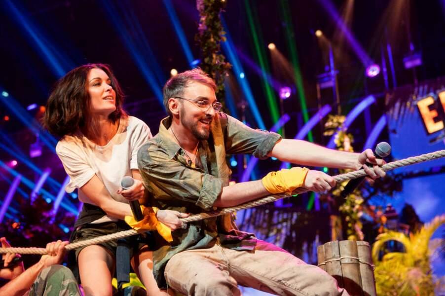 Jenifer et Christophe Willem donnent tout pour remporter la partie