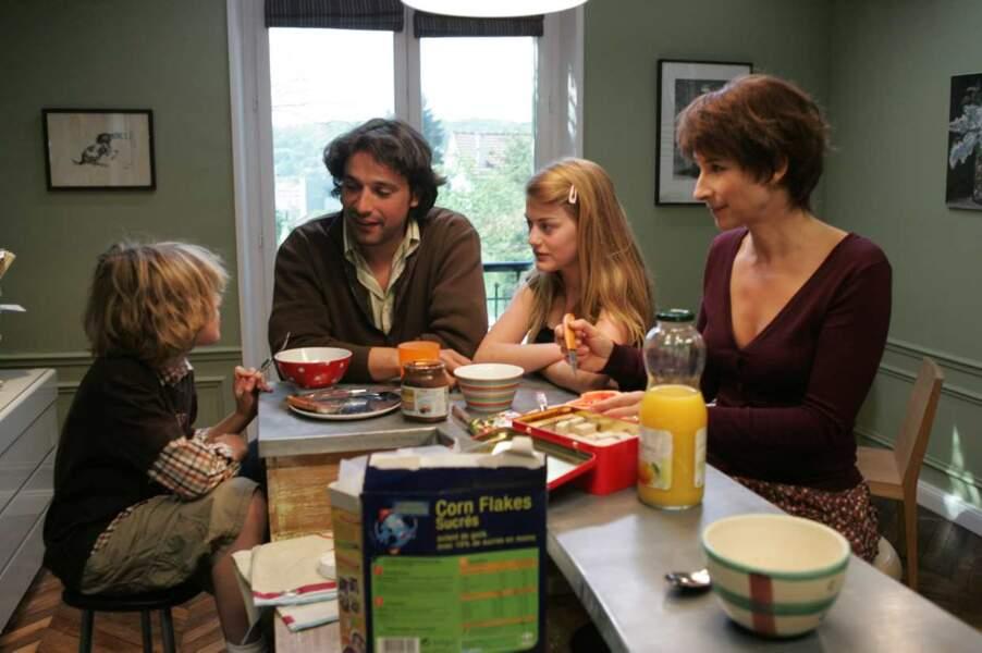 Allez, hop : une petite photo de famille des Bouley lors de la saison 1