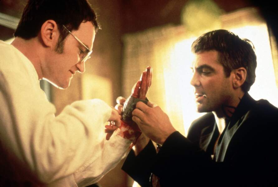 Dans Une nuit en enfer, Tarantino donnait la réplique à un certain... Georges Clooney !