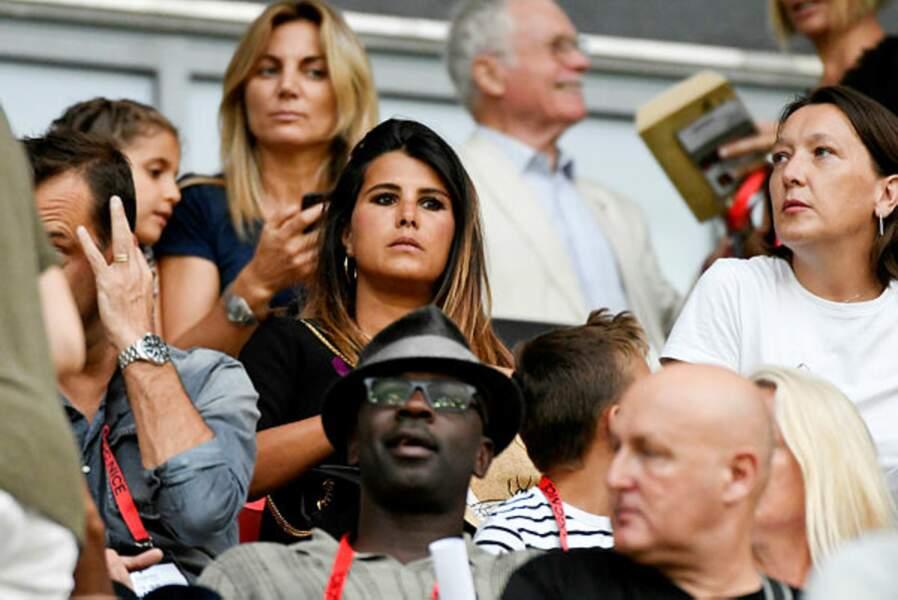 Le cœur de Karine Ferri balance pour le foot et surtout son mari Yoann Gourcuyff