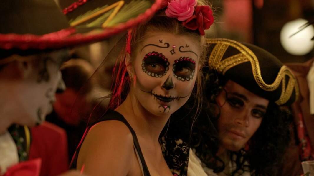 Les adolescents de la série Demain nous appartient se sont mis aux couleurs d'Halloween