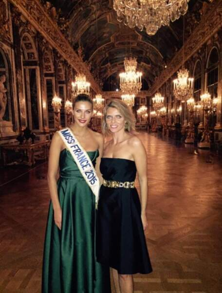 Camille Cerf et Sylvie Tellier, deux reines de bal !
