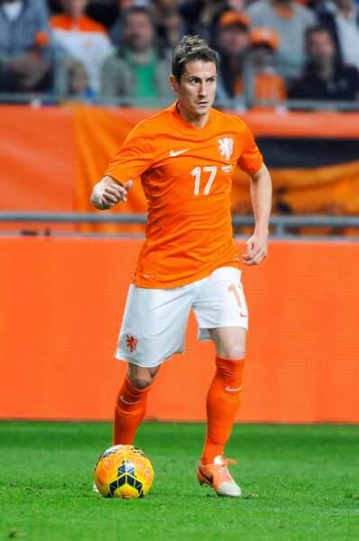 Le footballeur néerlandais Paul Verhaegh, 30 ans
