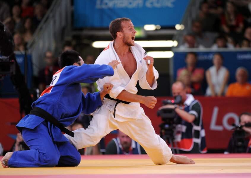 Ugo Legrand hurle sa rage bronzée en -73 kg