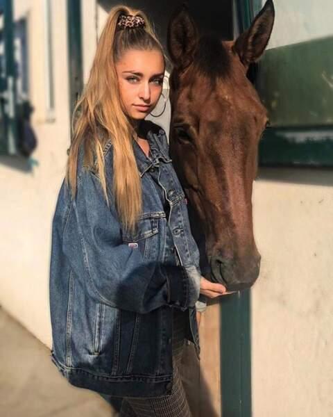 Emma Smet, cavalière émérite