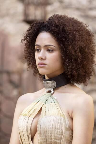 La jeune femme a fini par décrocher un rôle dans la série numéro 1 : Game Of Thrones.