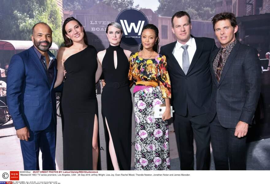 L'équipe de Westworld était réunie autour du créateur Jonathan Nolan