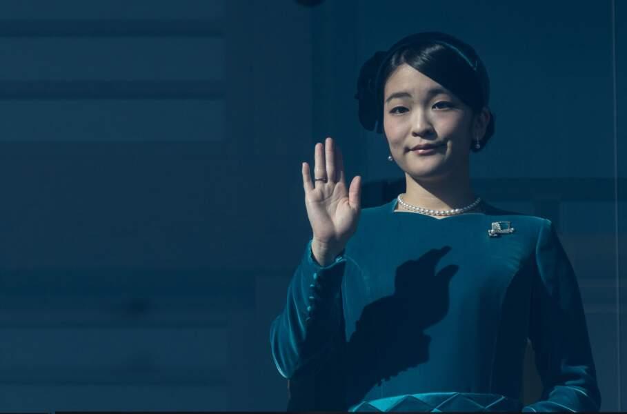 Princesse Mako du Japon (27 ans), fille du prince Fumihito et de la princesse Kiko d'Akishino
