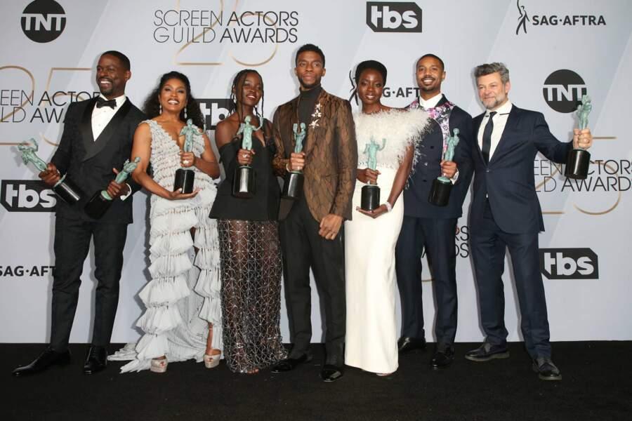 Encore une récompense pour Black Panther, prix de la meilleure distribution