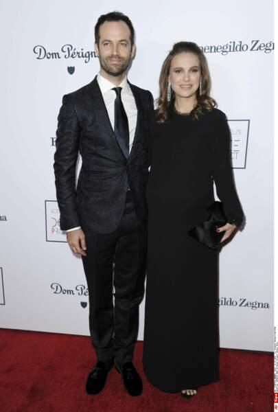 Natalie Portman et son mari Benjamin Millepied auront bientôt un deuxième bébé à la maison. MàJ : il est né en mars