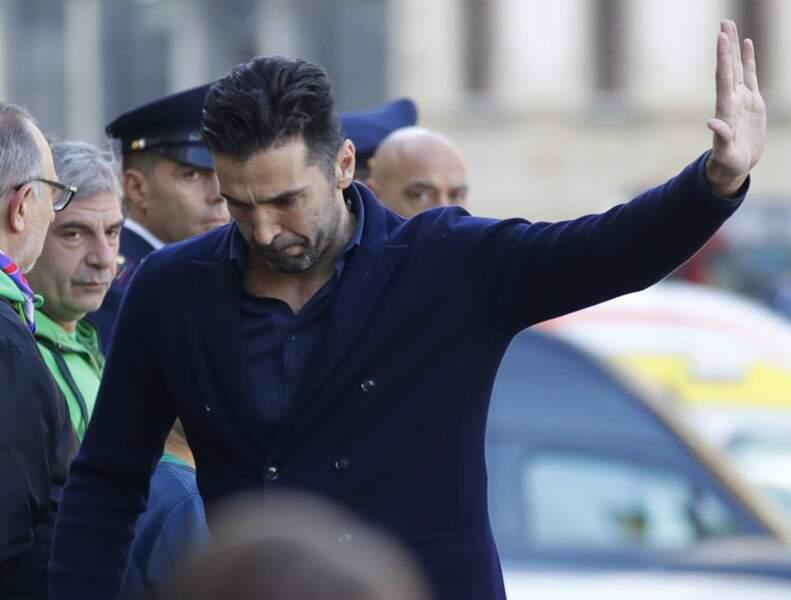 Le célèbre gardien de la Juve et de la Squadra Azzurra, Gianluigi Buffon, très ému