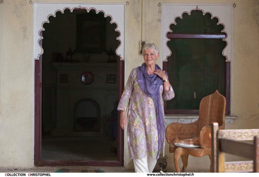 Judi Dench en plein dépaysement dans Indian Palace (2011)