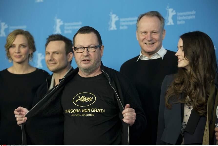 """En 2011, Lars Von Trier déclare """"comprendre Hitler"""". Il est viré du festival!"""