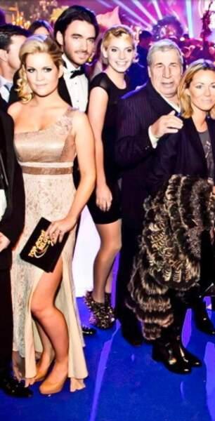 Coralie Xhaard (Saison 4) a présenté l'élection Top Model Belgium