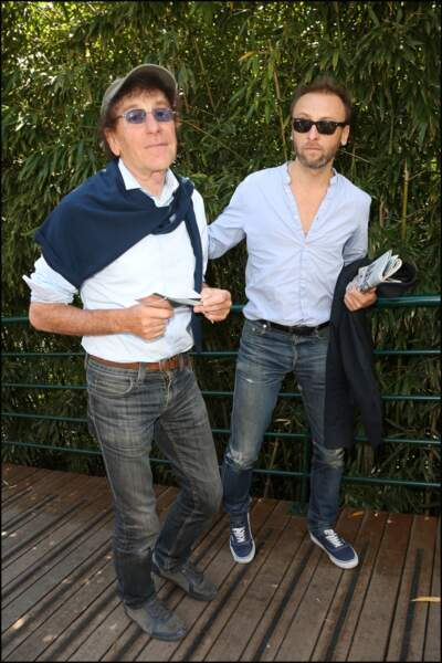 Alain Souchon et son fils Pierre, escapade familiale