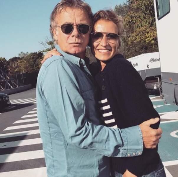 Et c'était l'heure des retrouvailles pour Franck Dubosc et Alexandra Lamy sur un nouveau tournage !
