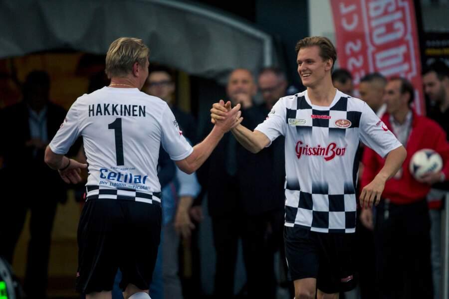 Parmi les coéquipiers du fils de Schumi, il y avait l'ancien pilote finlandais Mika Häkkinen