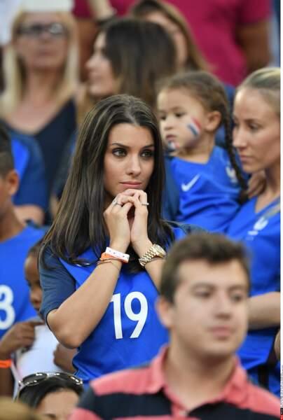 Ludivine Sagna était un peu stressée pendant le match