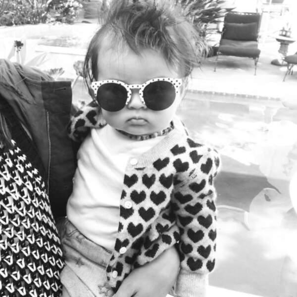 Voici Marlowe, la petite fille d'Alanna Masterson de The Walking Dead.
