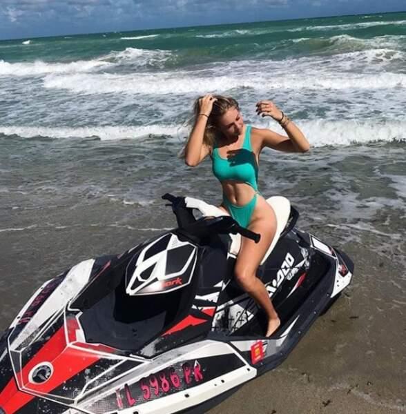 Amanda Anisimova : après la conquête des courts, la conquête des mers ?