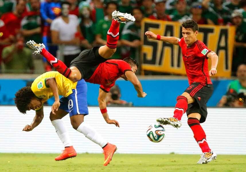 Non, ne vous y trompez pas, ceci n'est pas une démonstration de capoeira.
