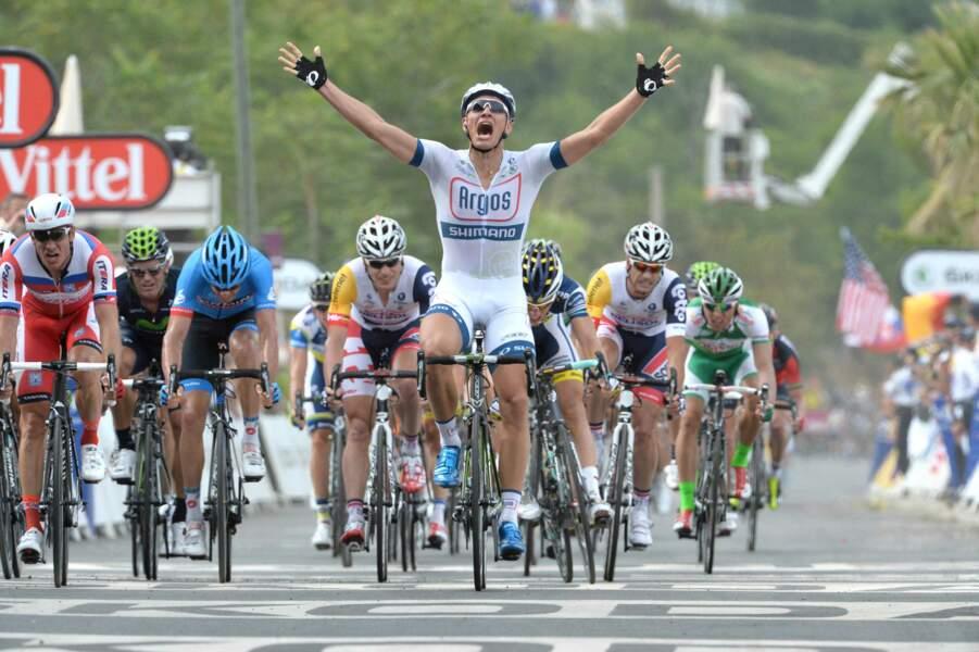 Marcel Kittel a remporté le premier sprint du Tour de France