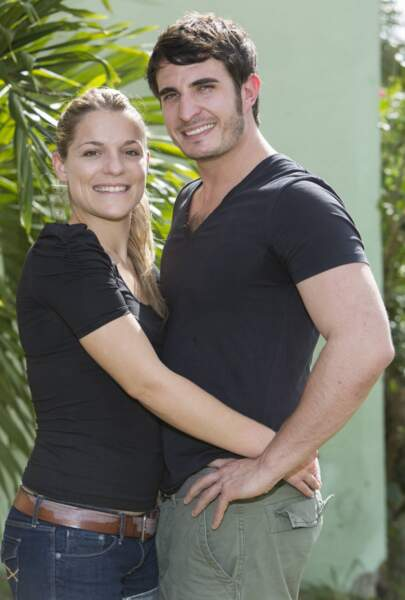 Julie et Denis, visiblement amoureux