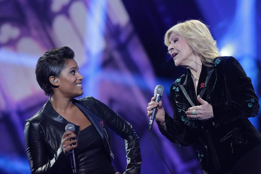 Audrey Chauveau et Nicoletta