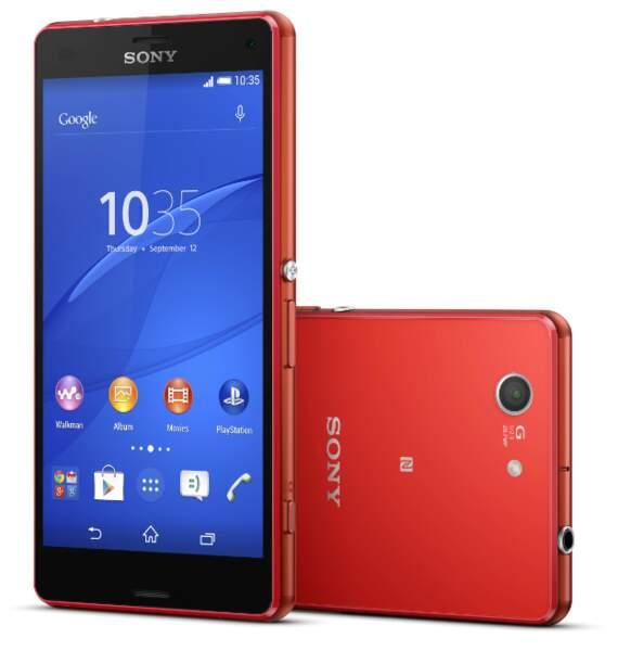 Sony Xperia Z3 compact : un haut de gamme étanche