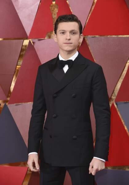 Tom Holland a laissé sa tenue de Spider-Man au vestiaire