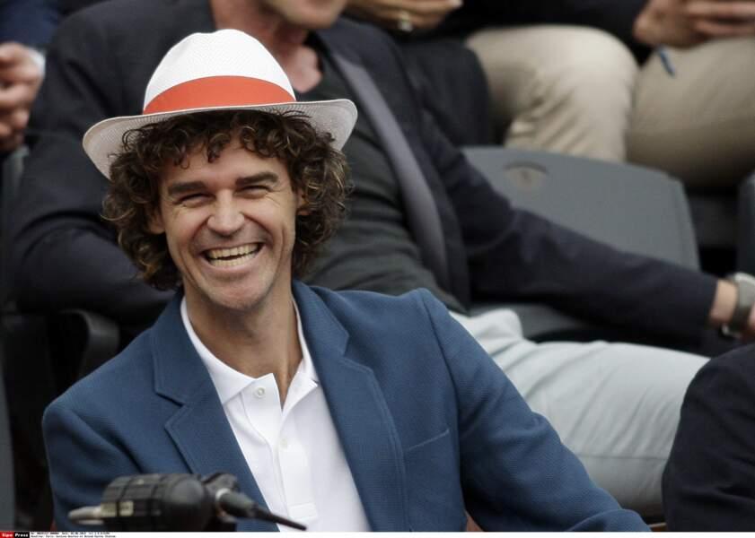 Il y avait aussi Gustavo Kuerten, triple vainqueur de Roland Garros.