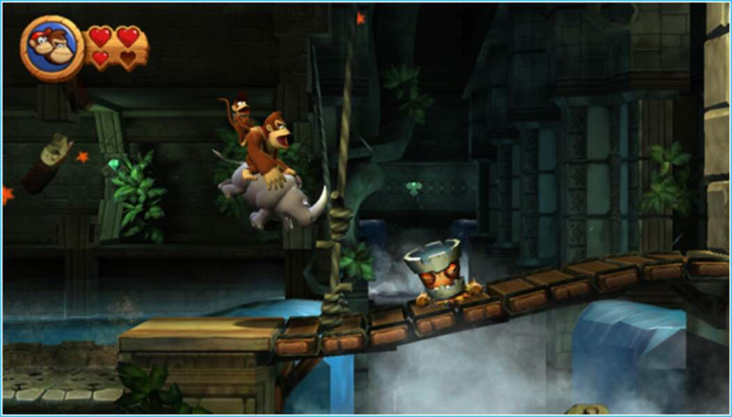 Donkey Kong Country Returns - Wii (2010)