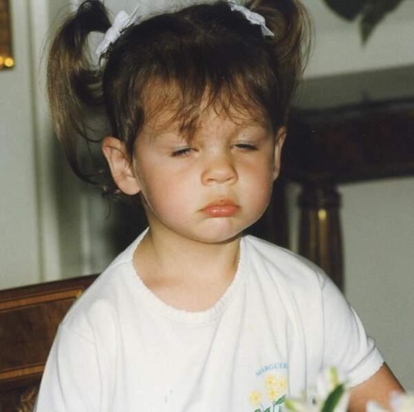 Genre beaucoup moins que 15 ans, comme sur cette photo d'enfance.