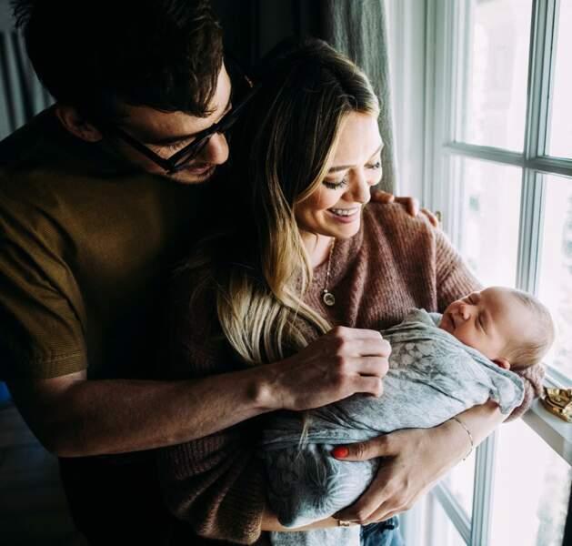 L'actrice et chanteuse, Hilary Duff et son nouveau conjoint sont les heureux parents d'une petite Banks Violet Bair