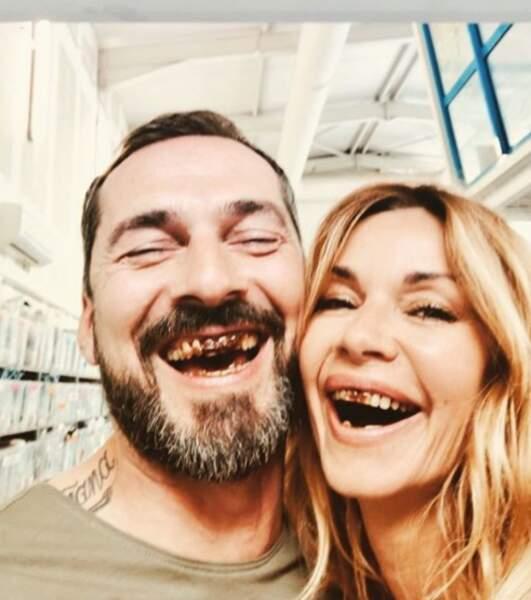 Ingrid Chauvin et Franck Monsigny de Demain Nous Appartient semblent avoir abusé d'un bon gâteau au chocolat...