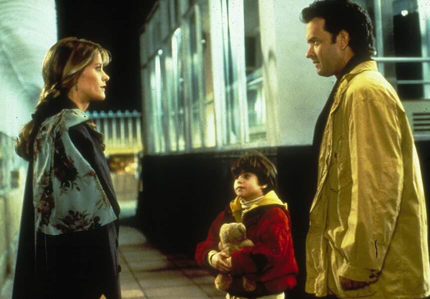 Attachant Tom Hanks, touchante Meg Ryan, le couple parfait de Nuits blanche à Seattle…