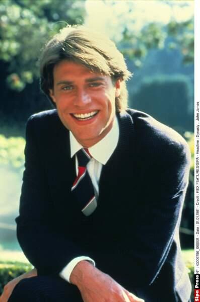 John James était le beau gosse Jeff Colby.